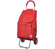 Trolley Dolly XL Deluxe 2-in-1 Folding Cart & Dolly w/ Comfort Handle - V34413