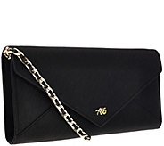 Always Be Secure RFID Leather Envelope Clutch - V33414