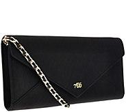 Always Be Secure RFID Leather Envelope Clutch - V33414