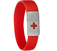 EPIC-id Waterproof Medical USB Silicone Band - V33614