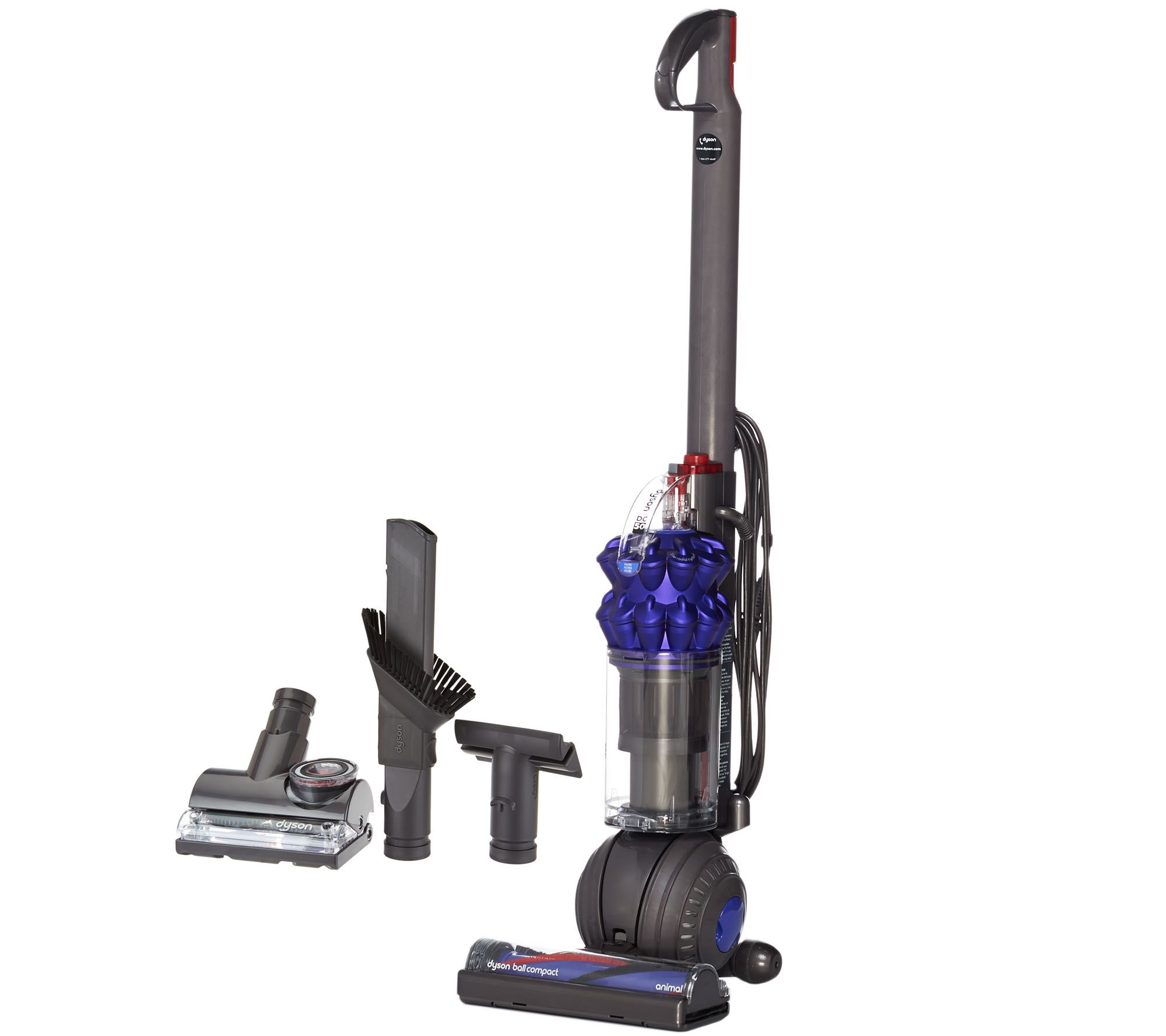 Dyson Ball pact Animal Lightweight Upright Vacuum and 4 Tools