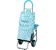 Trolley Dolly On the Go Cart w/Comfort Cushion Seat & Backrest - V34414