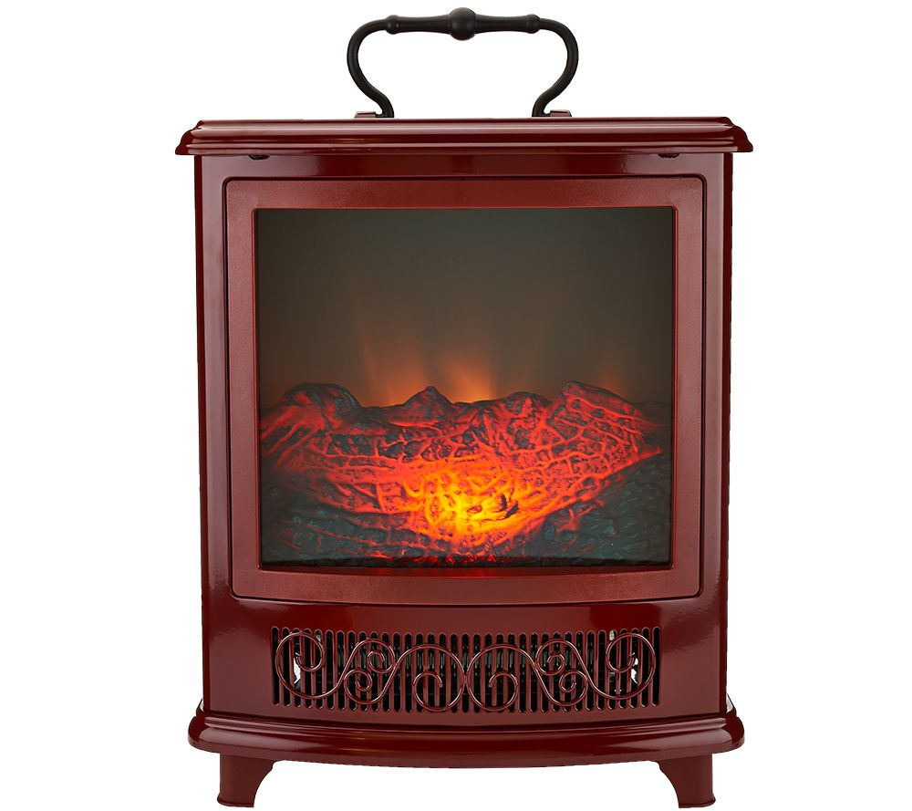 duraflame portable stove heater w handle u0026 flame effect page 1