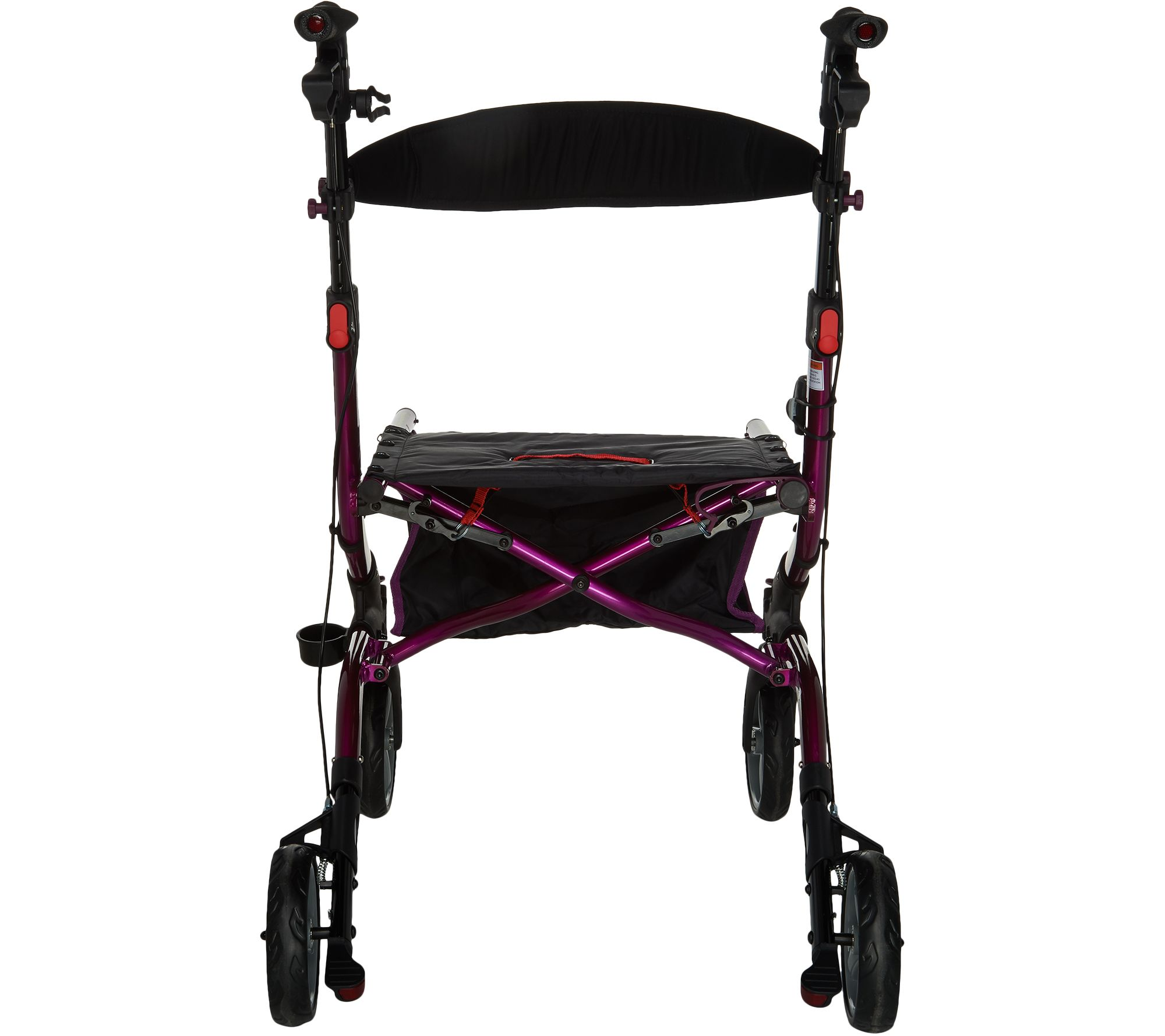 Drive Medical Foldable Lightweight Rollator with Light Page 1