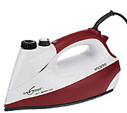 Eurosteam 1000 Watt Steam Iron w/Boiler Tank & CeramicSoleplat - V32517