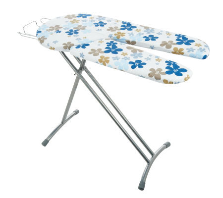 Eurosteam Split Board Ironing Board with Wire Iron Rest