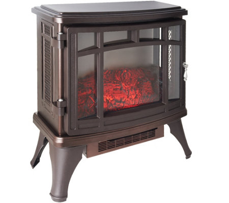 Duraflame Infrared Quartz Stove Heater with Flame Effect — QVC.com