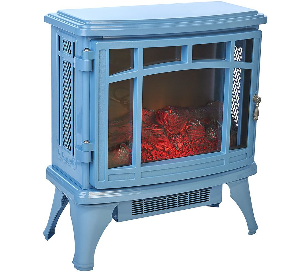 QVC) Duraflame Infrared Quartz Stove Heater with Flame Effect ...