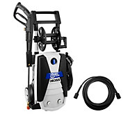 Blue Clean 1900 PSI Pressure Washer w/ 3 Metal Quick Connect Nozzles - V33218