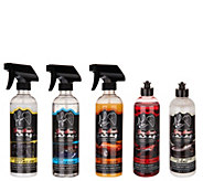 Jay Lenos Garage 5-Piece Ultimate Car Care Kit - V35819