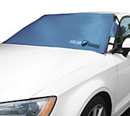 SolarGuard 2.0 Windshield Sunshade and Cover with Security Flap - V34720