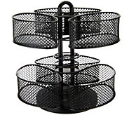 Nifty Spinning Dual Level Large Organizer Carousel - V33522