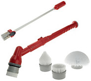 Tub & Tile Multi-Purpose Cordless Power Scrubber w/3 Attachments - V33223