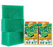 Big Daddy Set of 5 Supersized Cleaning Blocks by Scrub Daddy - V34123