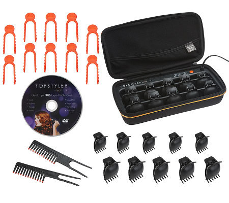 Topstyler 20 Ceramic Heated Styling Shells with Accessories