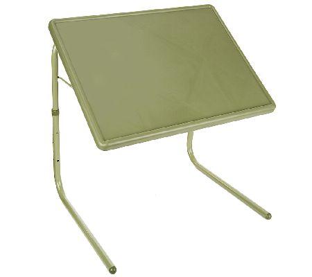 Table Mate XL Multipurpose Adjustable Folding Table   Page 1 U2014 QVC.com