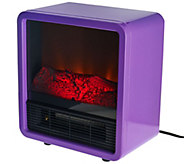 Duraflame 1500W Small Portable Heater with Realistic Flame Effect - V32925