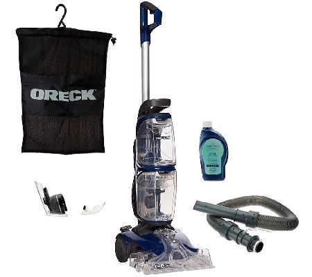 Oreck Revitalize Deluxe Carpet Cleaner With Duoscrub