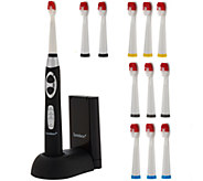 Soniclean Pro 3000 Sonic Toothbrush with 12 Brush Heads - V33627