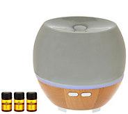 HoMedics Ellia Ultrasonic Aromatherapy Essential Oil Diffuser - V34327