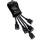 Power Squid 5 Outlet Surge Protector with 3 Ft. Cord - V33328