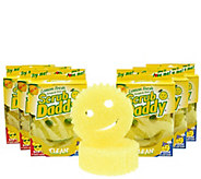 Scrub Daddy Set of 8 Scented Scratch Free Sponges - V33329