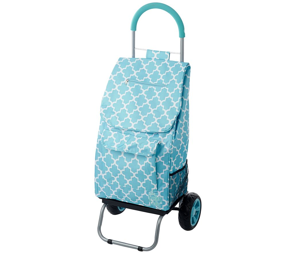 Trolley Dolly 2-in-1 Folding Cart and Dolly w/ Comfort Handle