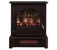 Duraflame Infrared Pedestal Base Stove Heater w/3D Flame Tech - V35030