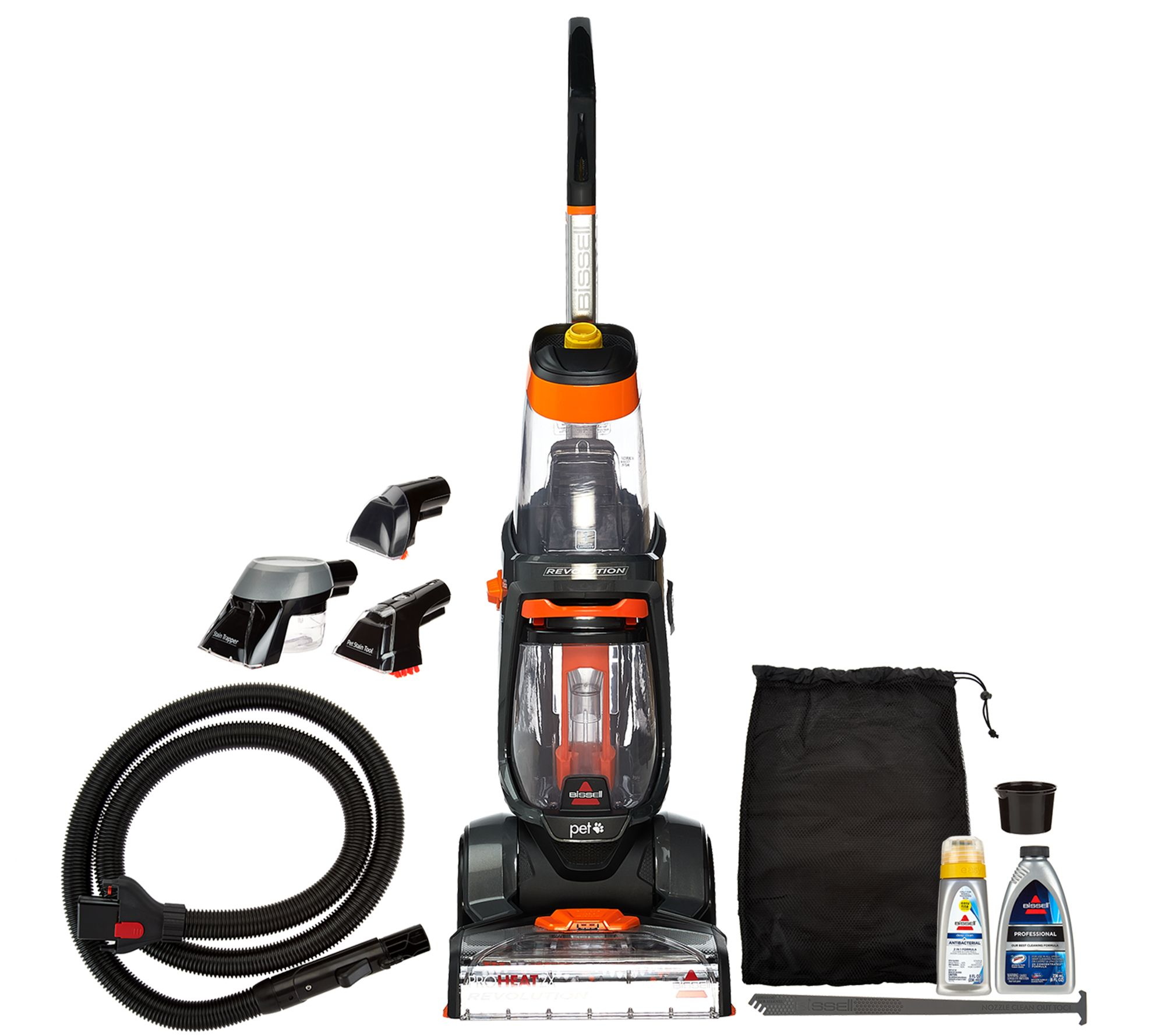 bissell proheat 2x revolution carpet and upholstery deep cleaner u2014 qvccom