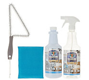 Don Asletts T3 Tub n Tile Foaming Concentrate w/ Brush & Sponge - V35733