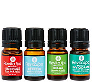 RevitaSpa Set of 4 Signature Blends Sampler Pack - V34534
