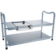 organizeme 2-Tier Metal Expandable Under-The-Sink Organizer - V35134