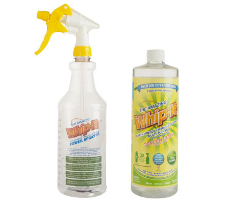The Amazing Whip-It 32oz. Concentrated Multi-Purpose Miracle Cleaner