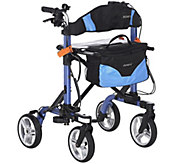EV Rider Foldable Lightweight Rollator with Bag - V33437