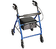 Carex Classics Folding Rolling Walker Rollator - V119639