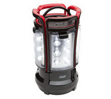 Coleman Rechargeable Hi Lo Quad Lantern With 24 Led Lights
