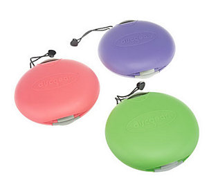 Product image of Discgear Set of 3 Portable 22 Disc Storage Cases