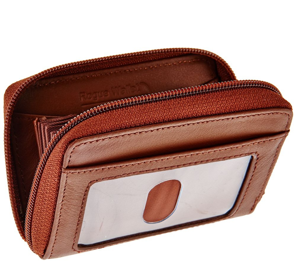 Rogue Wallet Accordion Wallet with Built-in RFID Protection - V32940 — QVC.com