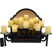 Duraflame Heated Candelabra Fireplace Insert/Display - V35040