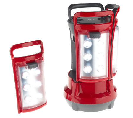 Coleman Rechargeable LED Quad Lantern w/ 4 SnapAway Lights