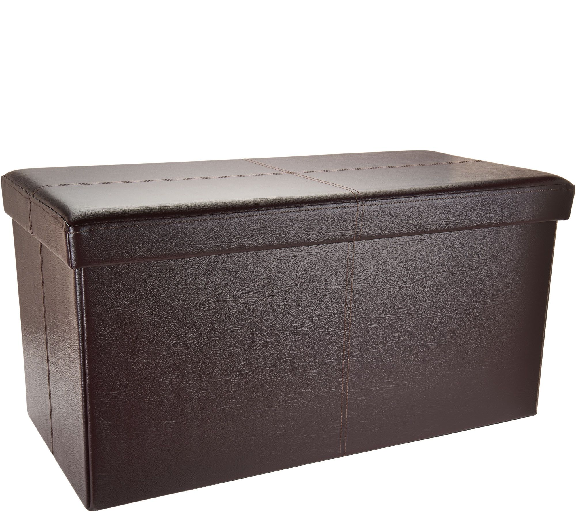 Faux Leather 30 Bench With Divider By Fhe Page 1