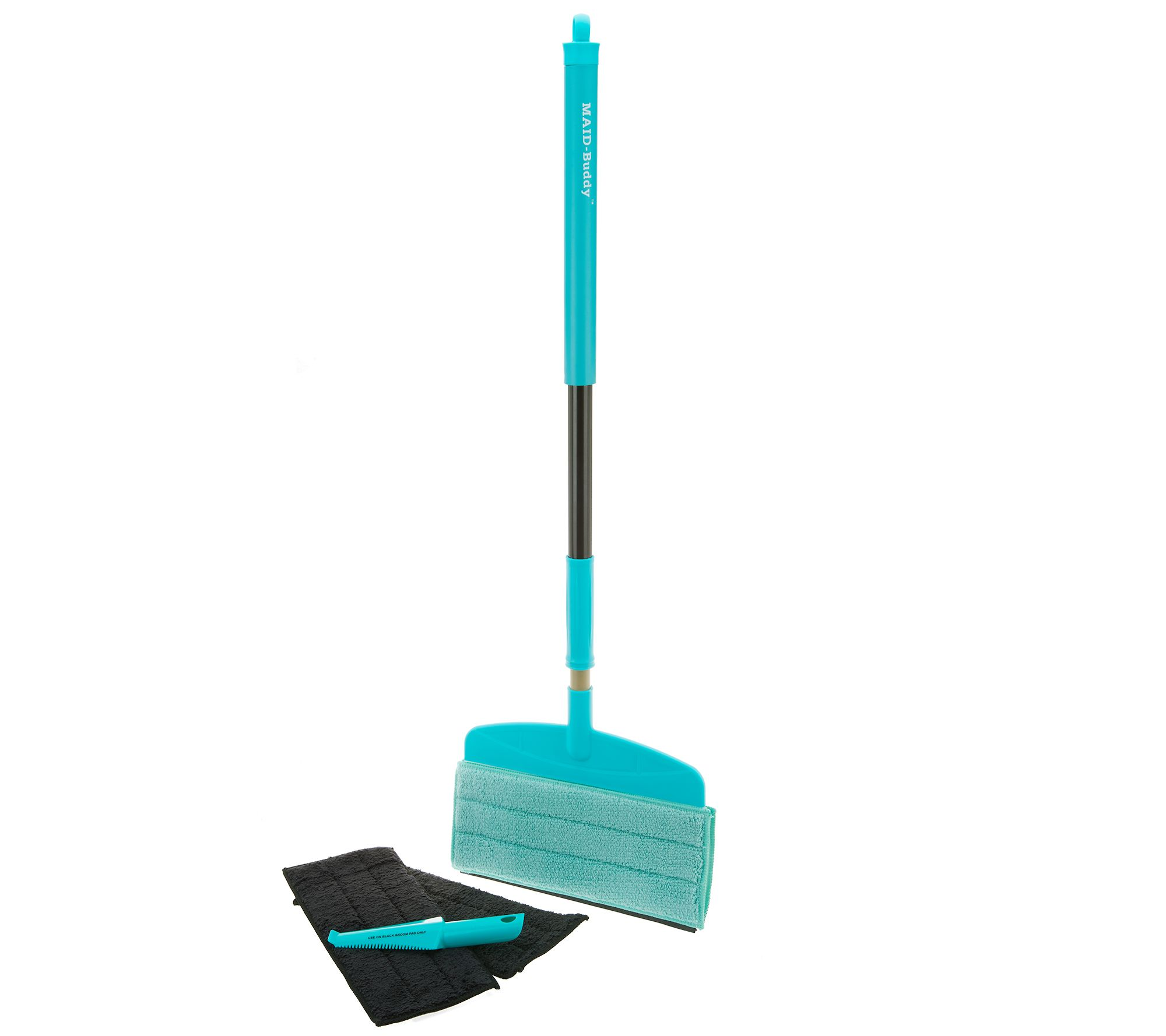 MAID-Buddy Flexible Flat Head Mop & Duster Broom Cleaning System - V35241