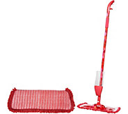 QuickMop Spray Mop with 2 Microfiber Pads by Campanelli - V34042