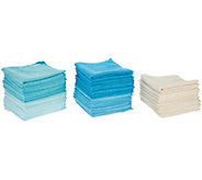 40 Piece Premium Microfiber Towel Set by Campanelli - V35242