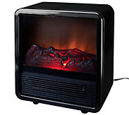 Duraflame 1500W Small Portable Heater with Realistic Flame Effect - V33344
