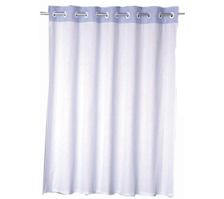 Hookless Shower Curtain Set Quot Pinstripe Quot Design V106845