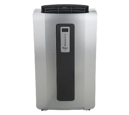 haier 14 000 btu portable air conditioner with remote. Black Bedroom Furniture Sets. Home Design Ideas