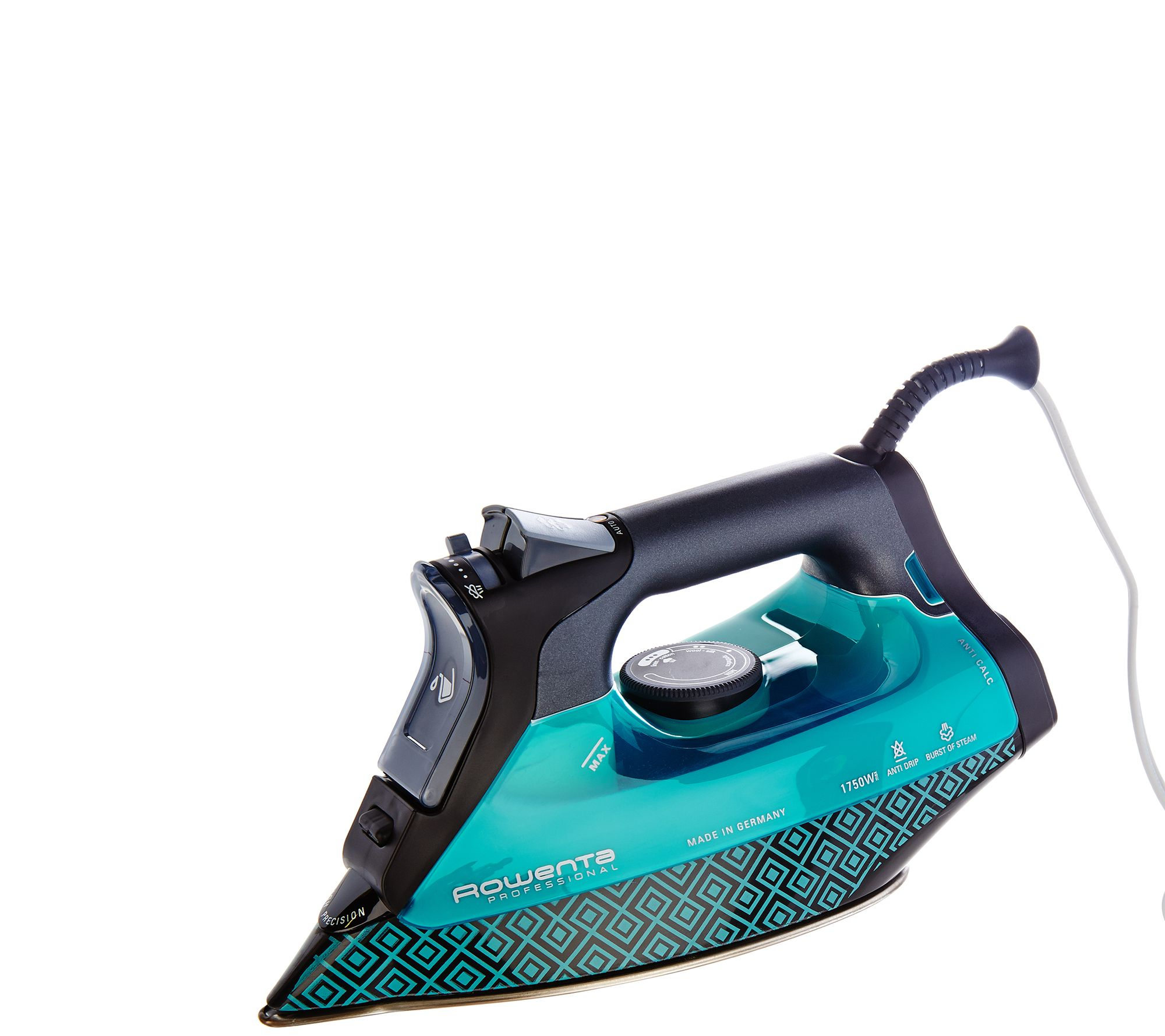 Commercial Steam Iron ~ Rowenta w professional steam iron with platinium