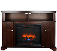 Duraflame Merino Infrared Quartz Corner or Wall Fireplace - V33046