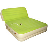 Air Cloud Inflatable Queen Airbed with Inclining Backrest - V34746